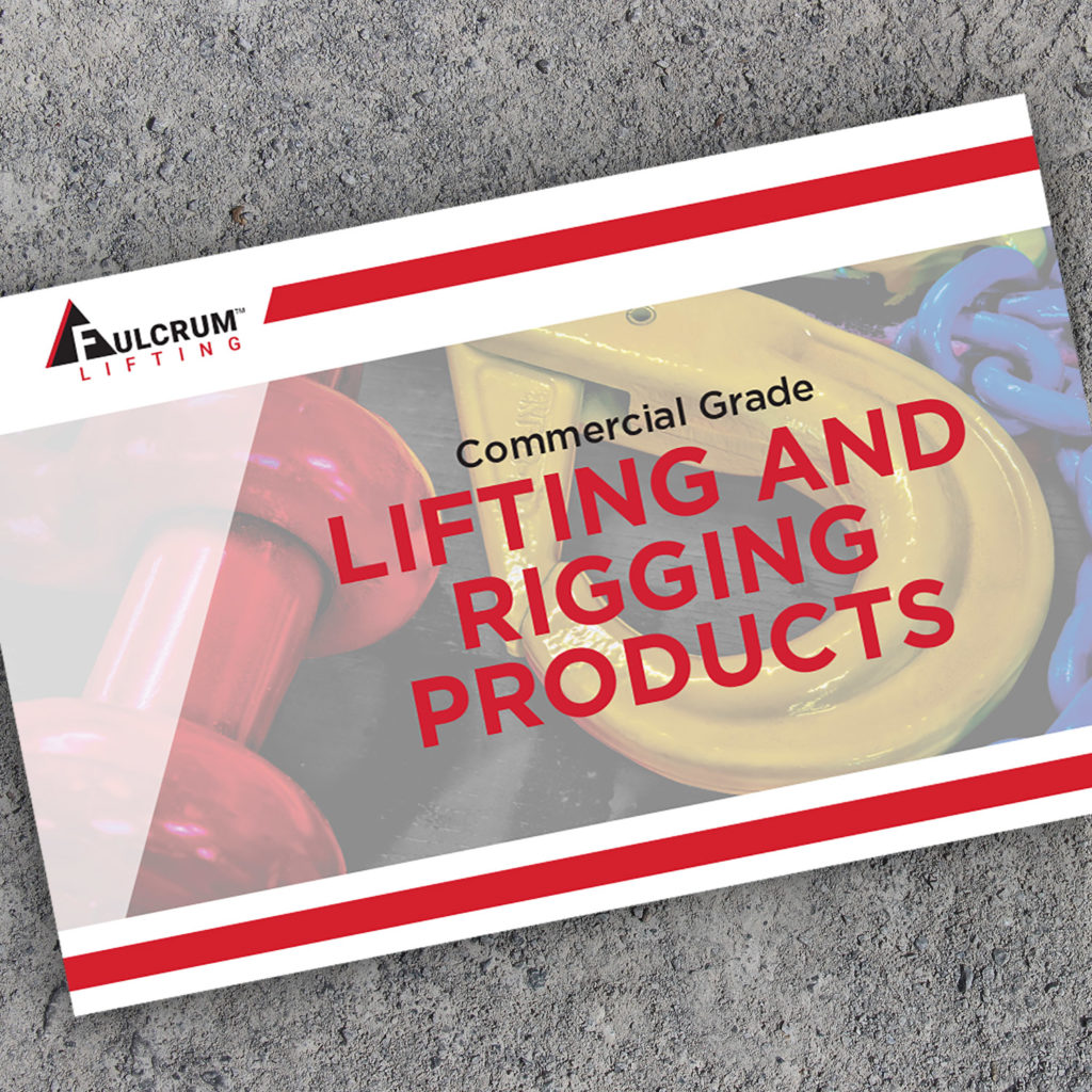 Fulcrum Lifting product line card