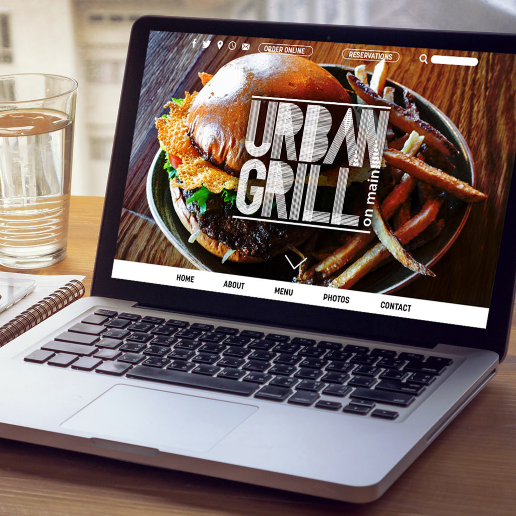 Website development for Urban Grill on Main