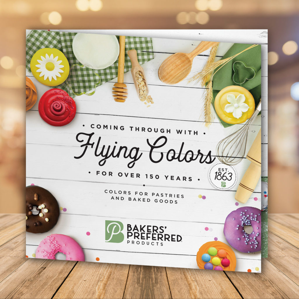 Bakers Preferred Products sales brochure