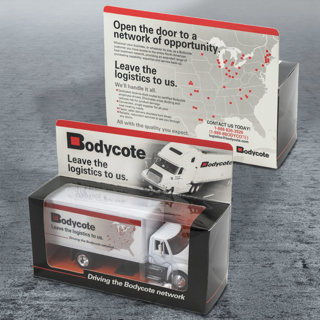 Bodycote Promotional Leave Behind